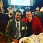 Hardeep Mangat and Eric Nelson photo by E Nelson