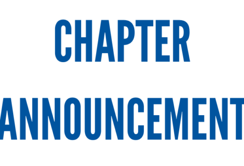 Provide Your Feedback Here on a New Type of Chapter Program