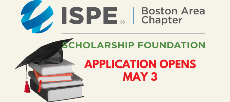 ISPE Scholarship Application Period Opens on May 3