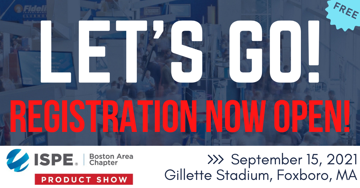ISPE Annual Product Show and Educational Seminars @ Gillette Stadium
